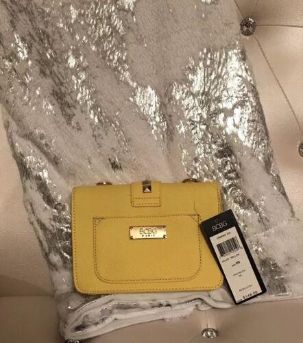 Authentische Paris Crossbody Handtasche Geldbrse Bcbg Gelb 148 Klein Neue 691043886685 Mini qCwxEdqZ