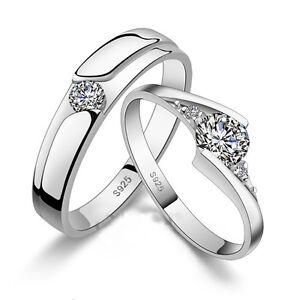 forever silver rings wedding band his