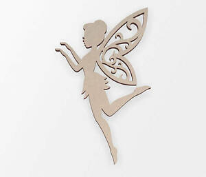 Dancing Fairy Wooden Cut Out, Cut Out, Wall Art, Home Decor, Wall Hanging