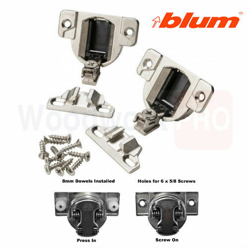 BLUM CABINET HINGES COMPACT 33 Knock In With Dowels 110 Degree 33.3630