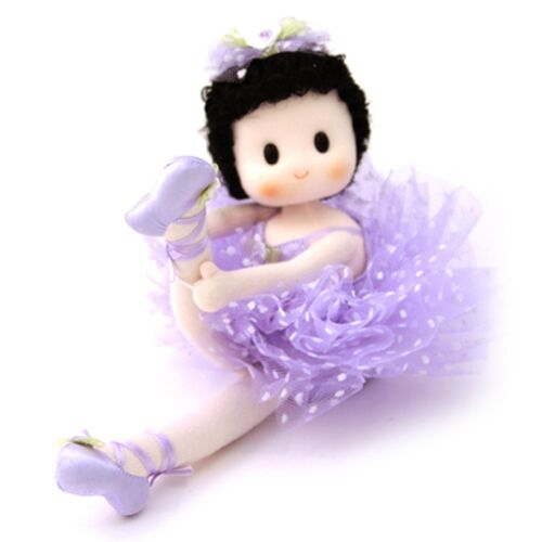 Tutu Ballerina Green Tree Musical Dolls Purple