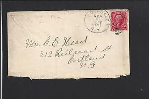 ROCKDALE-NEW-YORK-1903-301-COVER-CHENANGO-CO-DPO-1829-1954