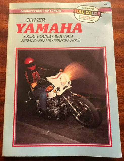 Clymer Yamaha XJ550 Fours 1981-1983 Service Repair Performance Motorcycle