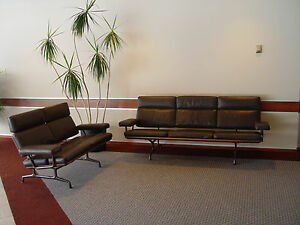 Ordinaire Image Is Loading RARE Herman Miller Charles Eames Sofa CUSHIONS ONLY