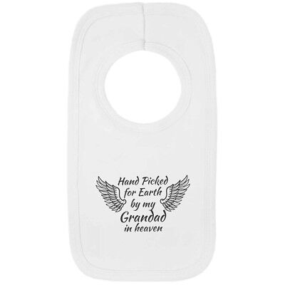 Handpicked for Earth Grandad Embroidered Baby Pull-Over Bib Gift Heaven