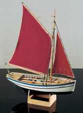 "Detailed, Brand New Wooden Model Ship Kit by Corel: the ""Sloup"""