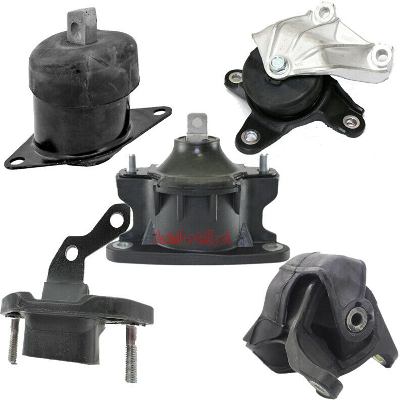 Engine Motor & Auto Trans Mount 5PCS For 08-11 Honda