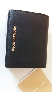 Pièces D'argent Noir Saffiano Porte-cartes En Cuir 3sHLUl
