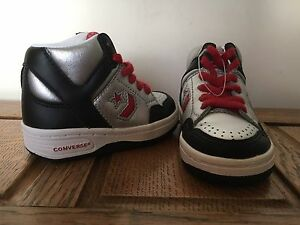 converse all star argento alte