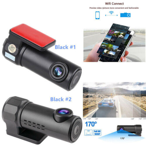 Mini HD 1080P Wifi Car DVR Camera Video Recorder Dash Cam Night Vision G-sensor