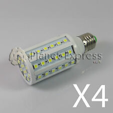 4x Glühbirne 60 LED SMD 5050 E27 Weiß Neutral 220V 10W 1080 lumen gleichwertig