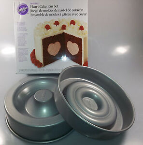 Wilton Backform Fur Kuchen Mit Herzfullung Heart Tasty Fill Cake