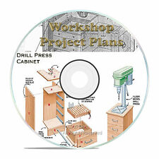 WORKSHOP PLANS, STEAM ENGINE, LATHE, WORKBENCH, DIY, PIPE BANDSAW, TABLE SAW CD