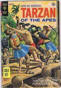 Tarzan-of-the-Apes-Comic-190-Tarzan-And-The-Forbidden-City-Gold-Key-1970