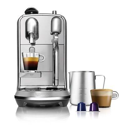 NESPRESSO CREATISTA PLUS, STAINLESS STEEL, Kaffeemaschine