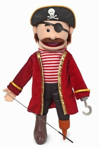 Silly Puppets Pirate 25 inch Full Body Puppet