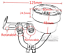 bocal-Liquide-frein-embrayage-noir-cnc-Reservoir-Maitre-Cylindre-MOTO-UNIVERSEL miniature 5
