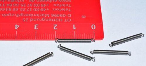 Zugfeder für Wagen 20mm Federset NEU Märklin 765520 5 Stück Feder E765520