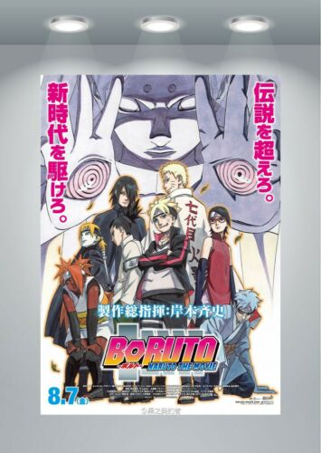 Boruto Naruto Next Generations Anime Large Poster Art Print in multiple sizes