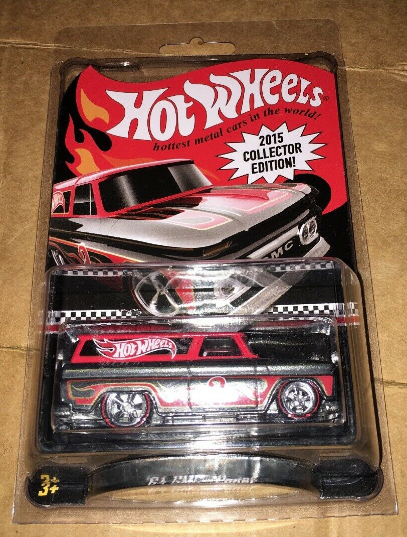 2015 Collector Edition Hot Wheels Wheels Wheels Kmart Mail Away '64 GMC Panel In Car Keeper f81816