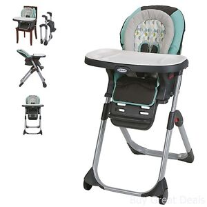 Graco Duo Diner Lx Highchair Adjustable Convertible Baby