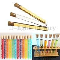50x 20ml Plastic Test Tubes With Corks Caps Wedding Favors Party Candy 16x150mm