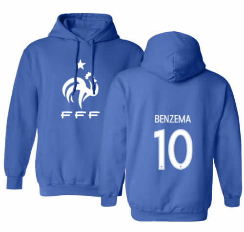 France 2018 Soccer #10 Kylian MBAPPE World Cup Men/'s Hooded Sweatshirt