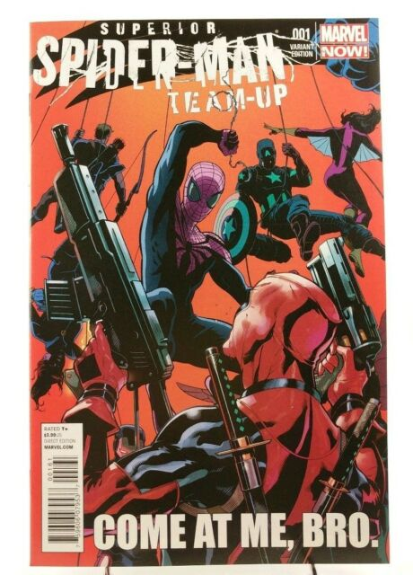Superior Spider-Man Team-Up 1 Deadpool Variant Cover 2013 Marvel Comics Book