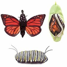 MONARCH BUTTERFLY LIFE CYCLE Puppet # 3073  FREE SHIP/USA ~ Folkmanis Puppets
