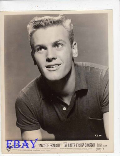 Tab Hunter Lafayette Escadrille VINTAGE Photo