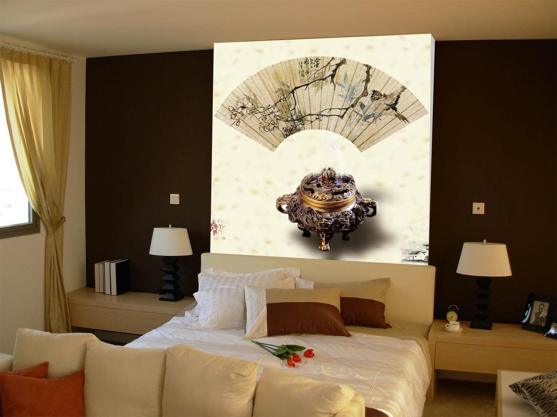 3D Incense Burner 894  Wall Paper Murals Wall Print Wall Wallpaper Mural AU Kyra