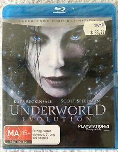 UNDERWORLD-EVOLUTION-BLURAY-MOVIE-DVD-BRAND-NEW-SEALED-PS3-COMPATIBLE-FREE-POST