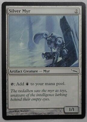 4 FOIL Alpha Myr Artifact Mirrodin Mtg Magic Common 4x x4