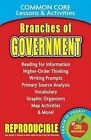 Branches of Government: Common Core Lessons & Activities by Carole Marsh (Paperback / softback, 2013)