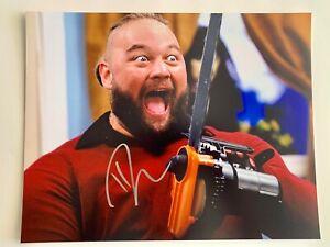 WWE NXT Fiend Bray Wyatt AUTOGRAPHED 11x14 Photo Signed ...