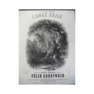 GüNstig Einkaufen Godefroid Félix Der Engel Exilé Chant Piano Ca1855 Partitur Sheet Music Score Waren Des TäGlichen Bedarfs Antiquarische Noten/songbooks