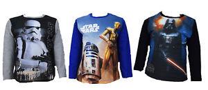 Kinder-Sweatshirt-Neu-Jungen-Pulli-Star-Wars-Jungen-Sweatshirt-Kinder-Pulli