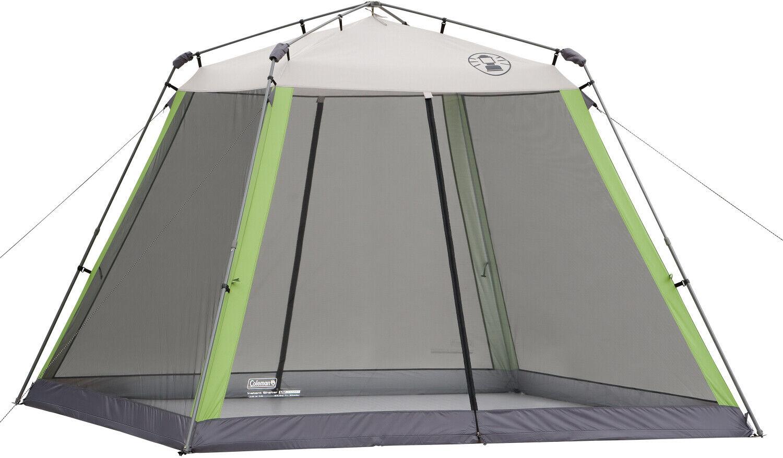 Coleman 10x10 instantánea Canopy  Pantalla Casa Sombra Tienda De Jugara Picnic Campamento Juego  Vuelta de 10 dias