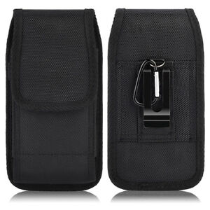 Luxmo-Vertical-Leather-Carrying-Pouch-Case-Holster-with-Belt-Clip-For-Cell-Phone