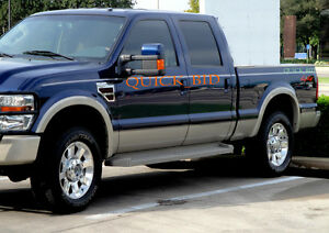 Fender Flares For 2008 2009 2010 Ford F250 Super Duty Factory Style No Drill Ebay