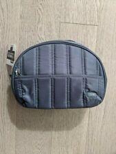 Lug Fog Gray Tumbler Cosmetic Clam Bag Pouch