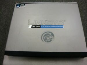 Cisco-SRW2016-Small-Business-Managed-WebView-Ethernet-Switch-10-100-1000Mbps