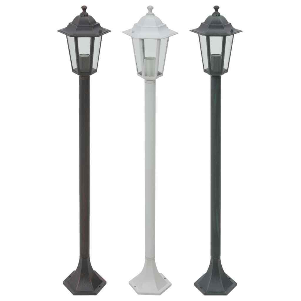 VidaXL 6x Pollerleuchte Gartenlampe Standleuchte Außenleuchte mehrere Auswahl