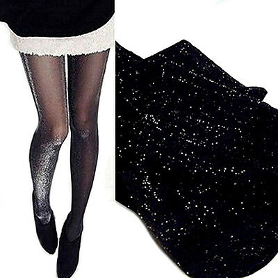 Funky Sexy Charming Shiny Hosiery Socks Glitter Stockings Womens Glossy DE