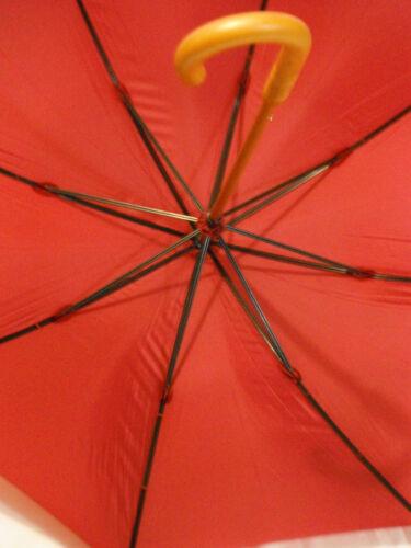 5900 Supersize Executive Wood Shaft Shelta Mens Long Rain Sun Umbrella