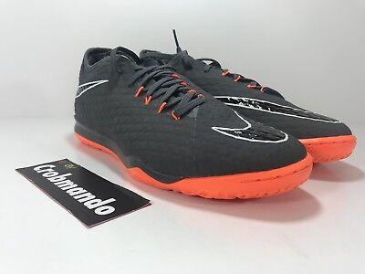 best service e3ef0 2a47b Nike Zoom Hypervenom Phantom III Pro IC Indoor AH7282-081 Grey/Orange Size  9.5 | eBay