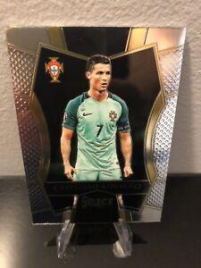 2016 Panini Select Mezzanine #154 Cristiano Ronaldo Portugal Soccer Card