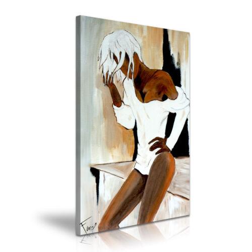 PIERRE FAREL Good Morning Pop Art Printing Framed Canvas Box