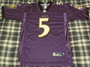 Baltimore Ravens JOE FLACCO Throwback Jersey - NFL - Adult Medium ...