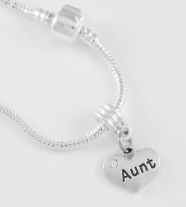 Image Is Loading Aunt Bracelet Charm Best Jewelry